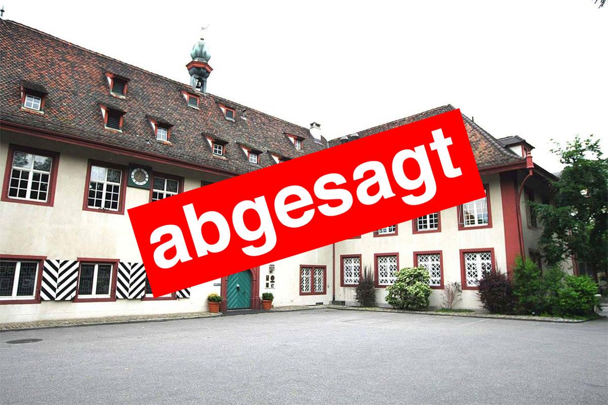Absage 17. Generalversammlung Historische Schützen Schweiz 2020