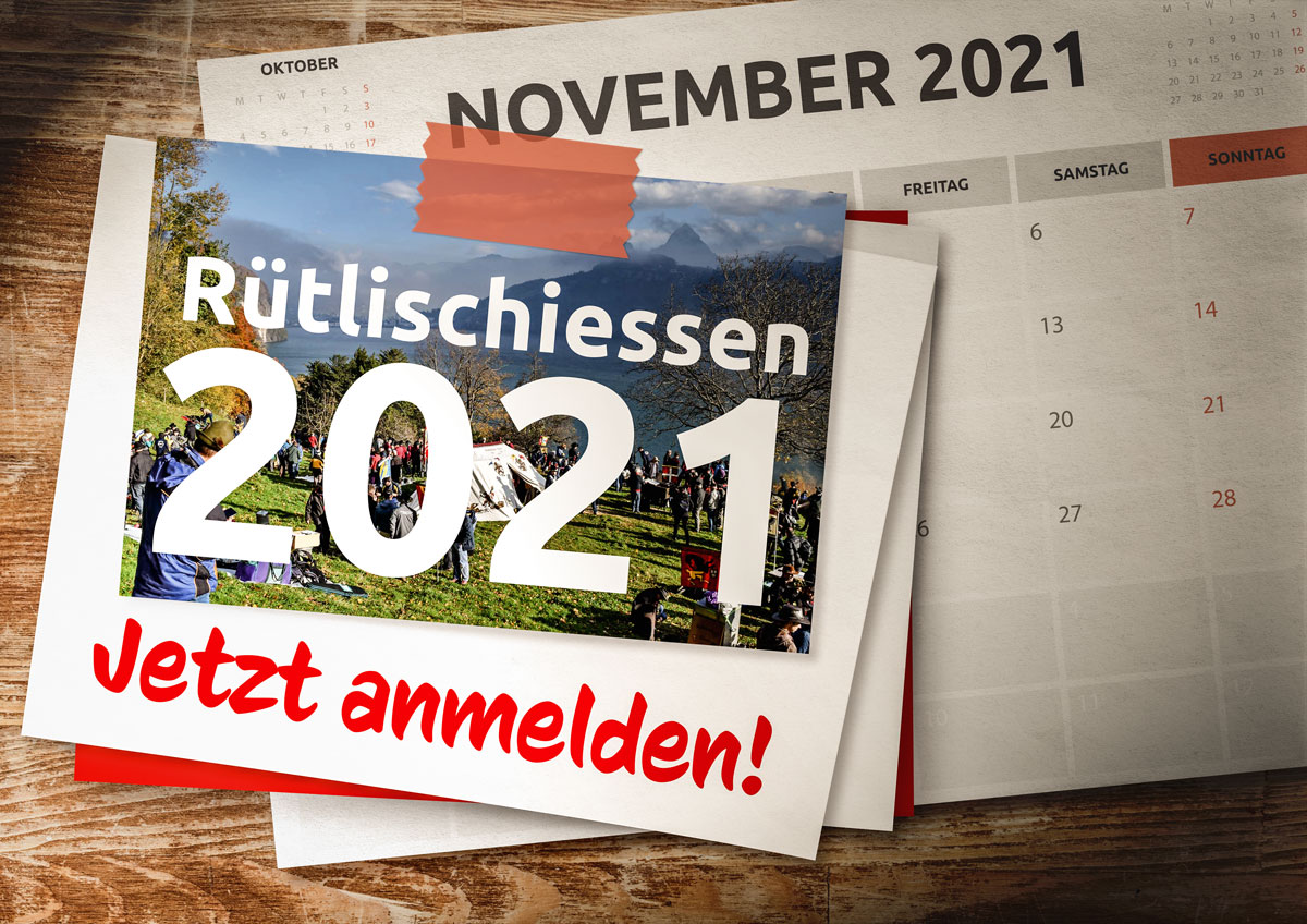 158. Rütlischiessen vom 10. November 2021