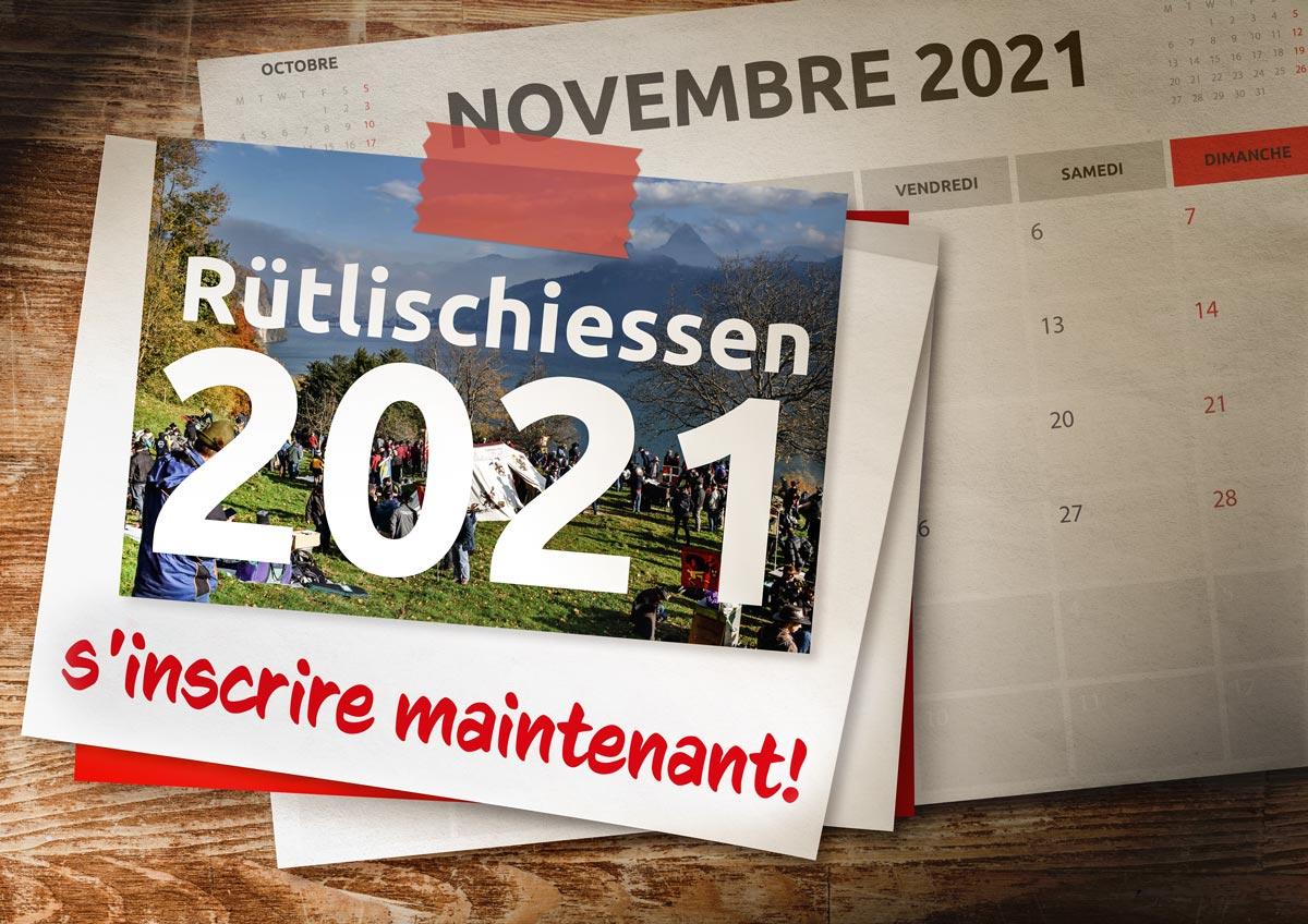 158ème tournage du Rütli le 10 novembre 2021